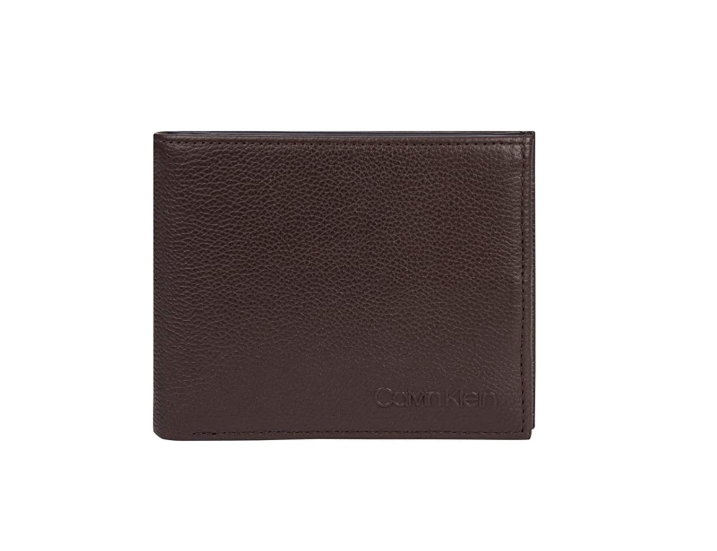 Calvin Klein Calvin Klein pánská hnědá peněženka BIFOLD 5CC W/ COIN