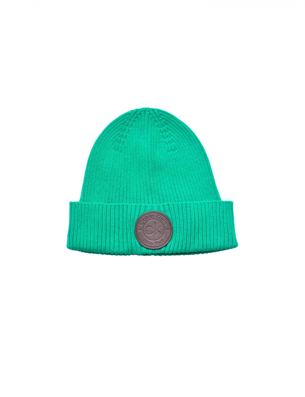 Calvin Klein Calvin Klein pánská zelená čepice