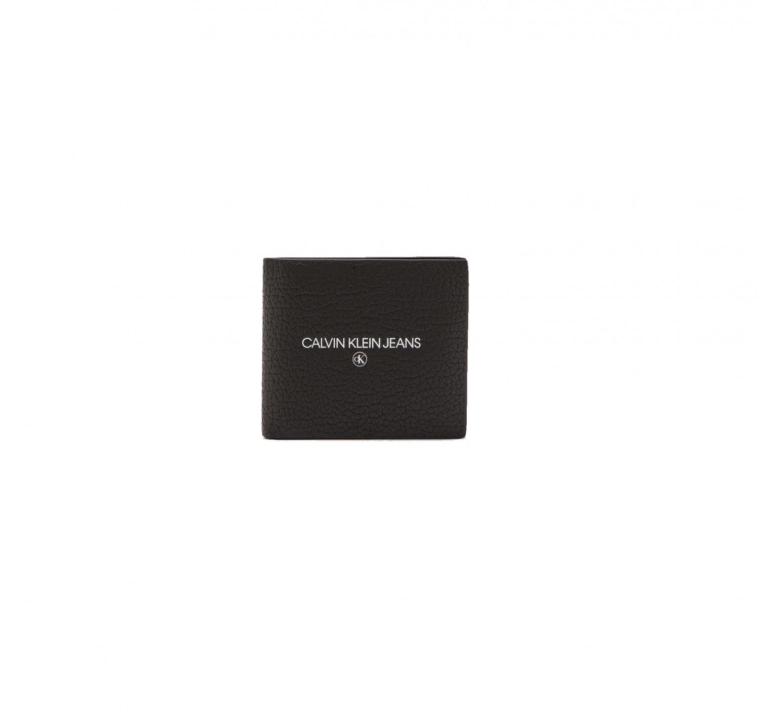 Calvin Klein Calvin Klein pánská černá peněženka BILLFOLD W/COIN