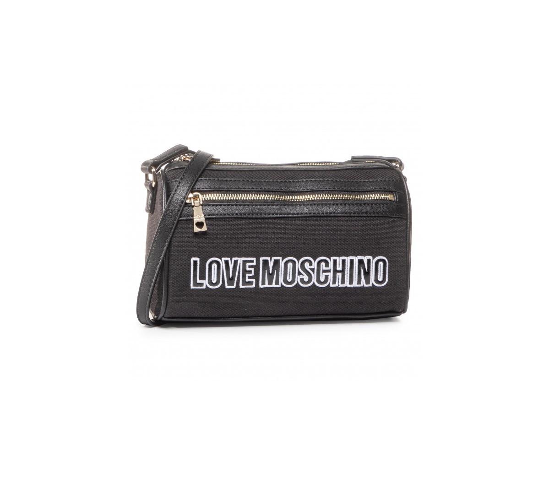 Levně LOVE MOSCHINO LOVE MOSCHINO dámská černá crossbody kabelka
