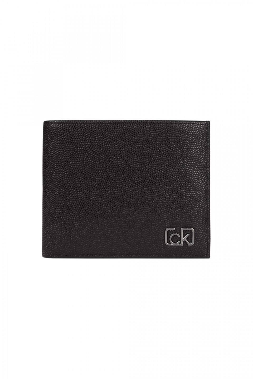 Calvin Klein Calvin Klein pánská velká černá peněženka BIFOLD 5CC W/ COIN