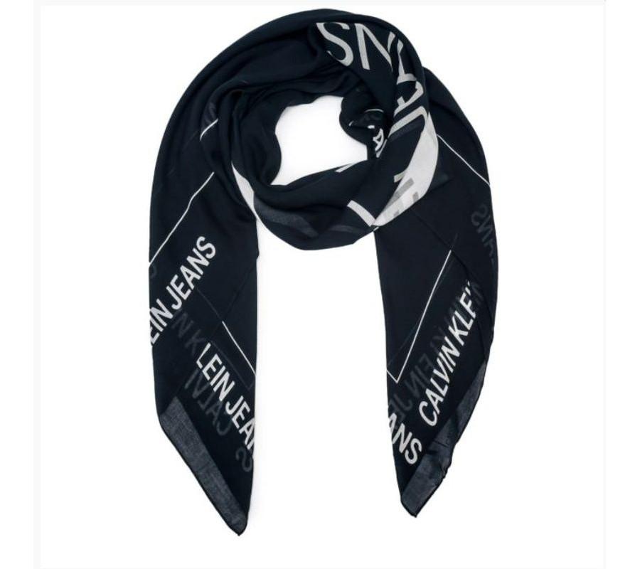 Calvin Klein Calvin Klein dámský černo bílý šátek