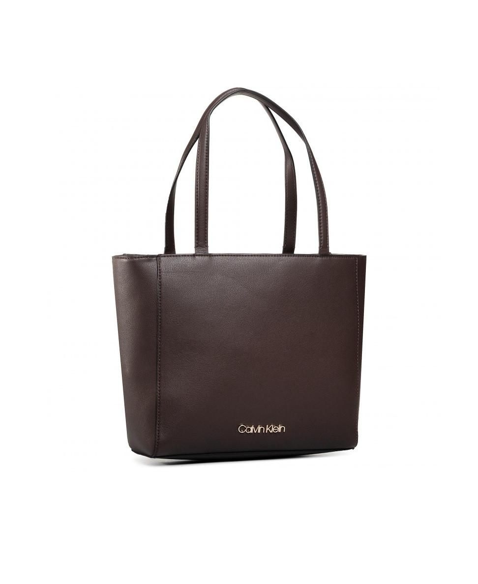 Calvin Klein Calvin Klein dámská hnědá kabelka SHOPPER SM