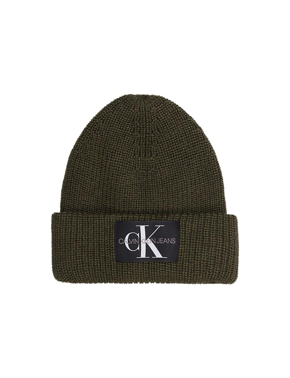 Calvin Klein Calvin Klein pánská olivová čepice