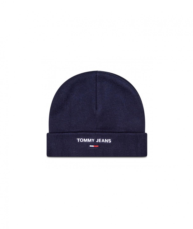 Tommy Hilfiger Tommy Jeans pánská modrá čepice SPORT BEANIE