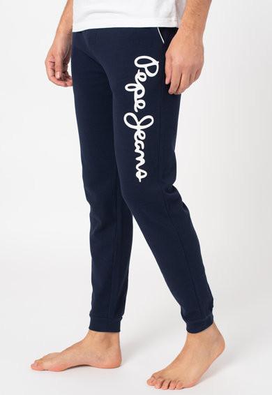 Pepe Jeans Pepe Jeans pánské tmavě modré kalhoty na spaní BARD