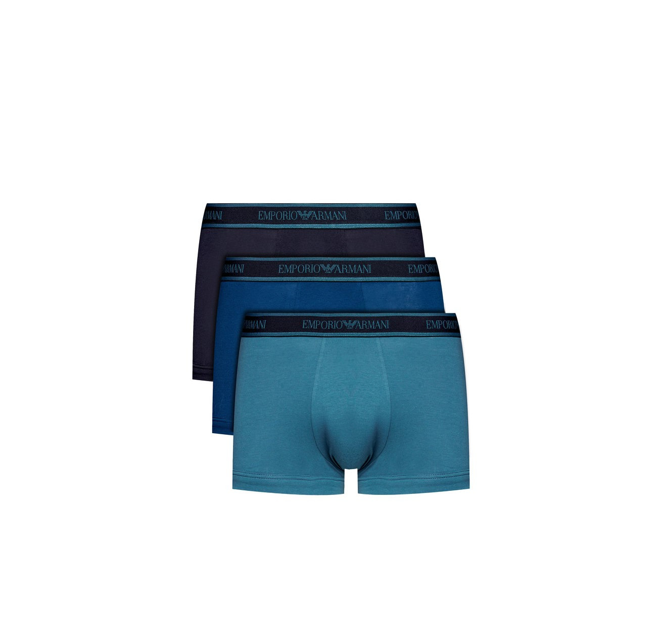 Armani Emporio Armani pánské boxerky | 3 ks - modré