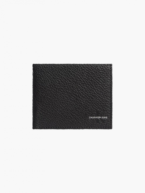 Calvin Klein Calvin Klein Jeans pánská černá peněženka BILFOLD W/COIN