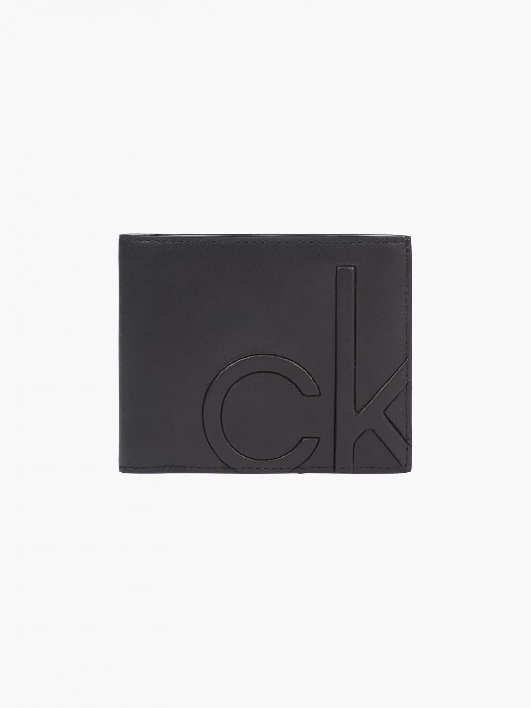 Calvin Klein Calvin Klein pánská černá peněženka BIFOLD 5CC W/ COIN