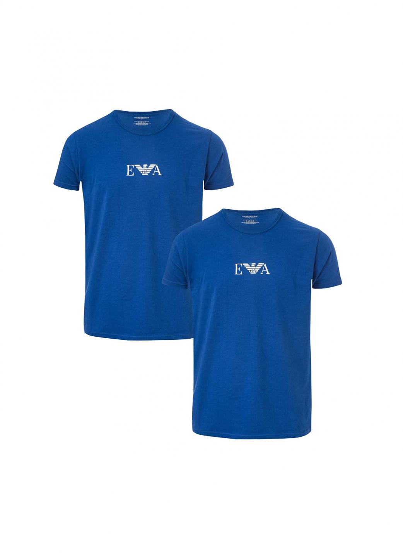 Armani Emporio Armani pánské modré tričko - 2 pack