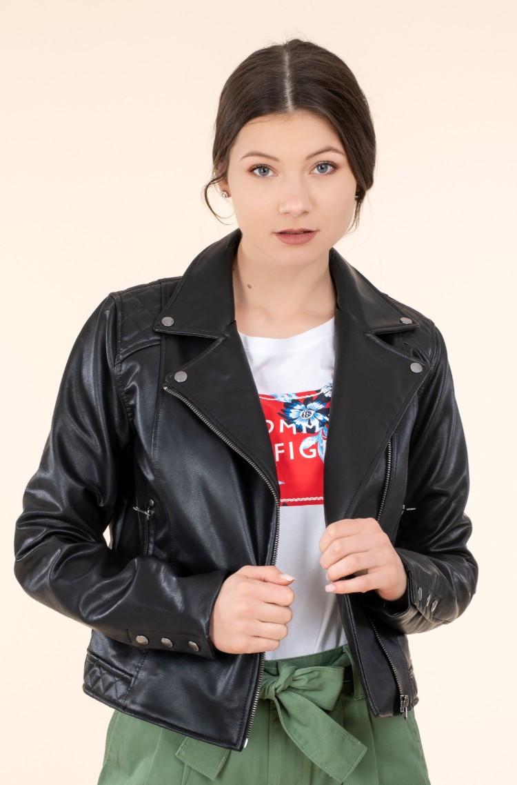 Pepe Jeans Pepe Jeans dámská černá bunda FLORES