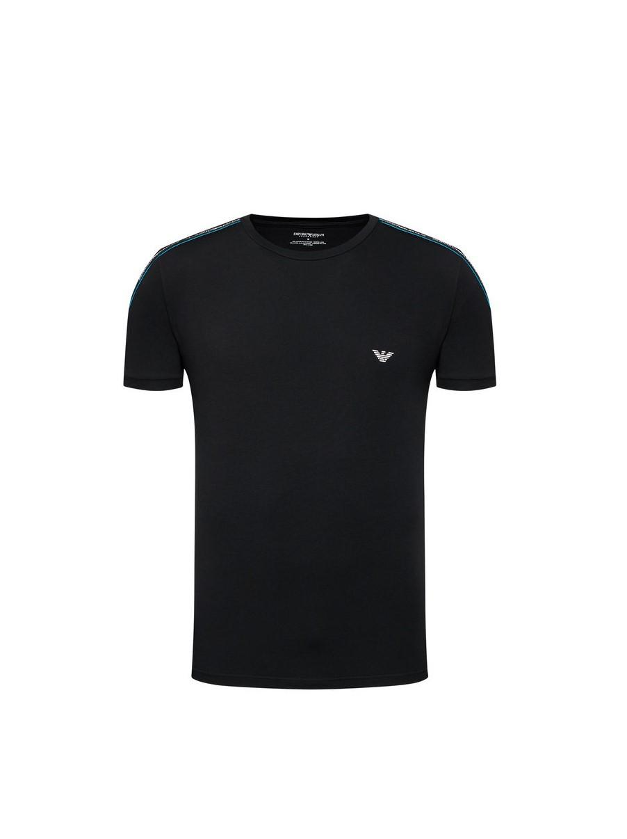 Armani EMPORIO ARMANI pánské černé tričko