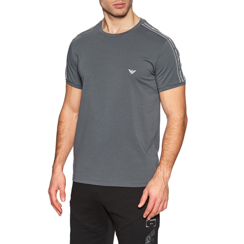 Armani EMPORIO ARMANI pánské šedé tričko