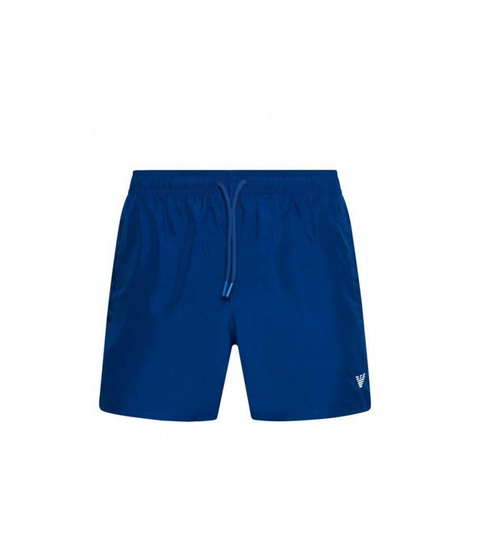 Armani Emporio Armani pánské modré plavky