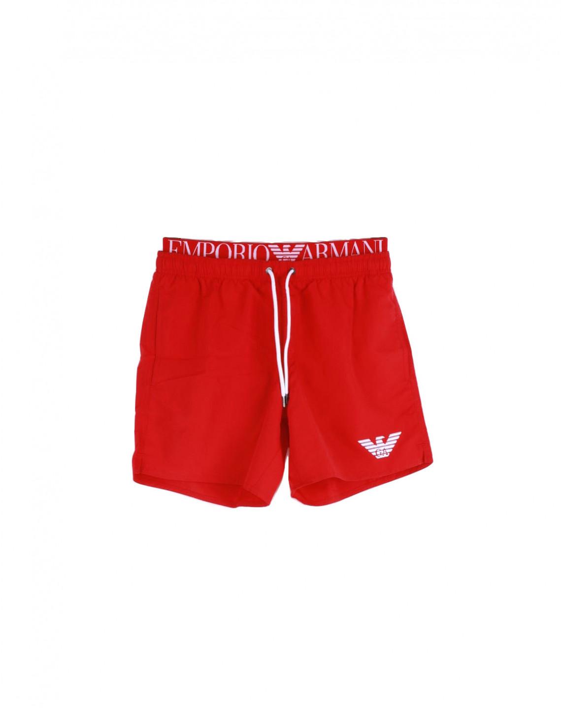 Armani EMPORIO ARMANI pánské červené plavky